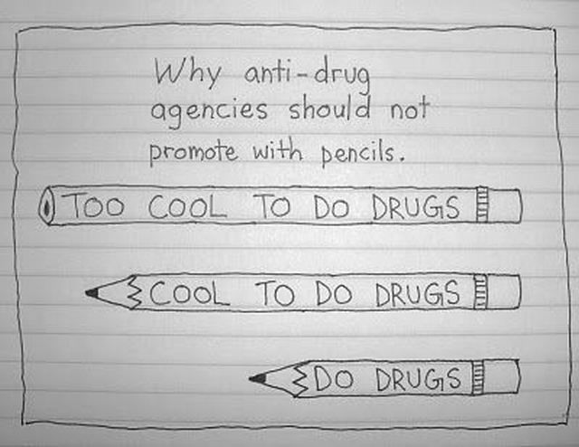 Anti Drug Pencils
