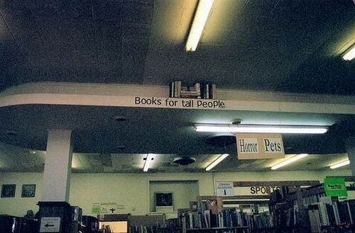 Books For Tall People