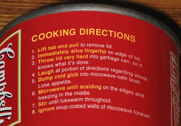 Cooking Directions