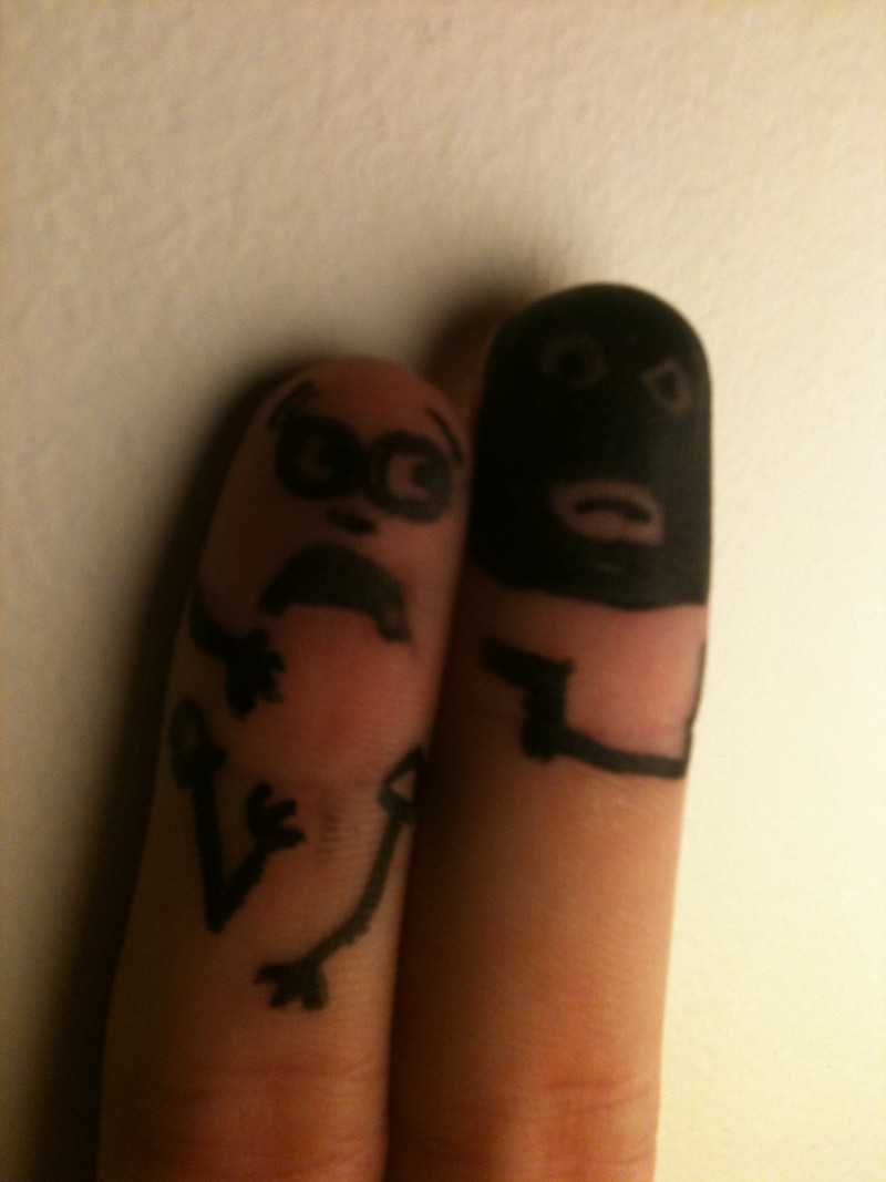 Finger Hostage 1