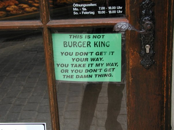 Not A Burger King