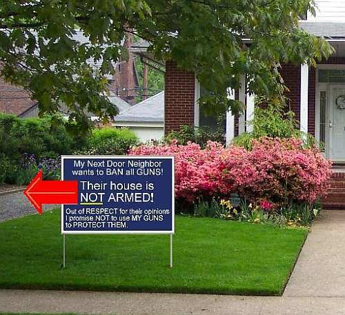 Unarmed Neighbor