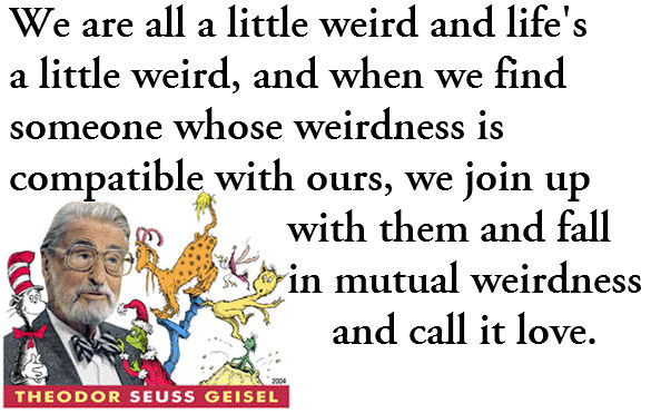 We Are All Wierd